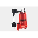 Red Lion 14942745 1/3 HP Cast Iron Sump Pump With Vertical Switch