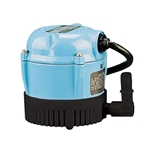 Little Giant 501003 1, 115V 60Hz 205 GPH - Small Submersible, 6' Power Cord