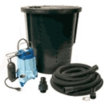 Little Giant 14940655 CS-SS, Pre-Packaged Crawl Space Sump System