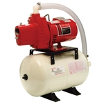 Red Lion 602099 RJS-50/RL6H Jet Pump & Tank 115/230V 1/2HP Pump and 5.3 gallon tank