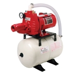 Red Lion 602102 RJC-50/RL6H Jet Pump & Tank Package 1/2 HP Pump and 5.3 gallon tank