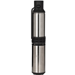 "Red Lion 14942407 4"" Submersible Deep Well Pump, 1 HP, 230 Volt, 3-wire cable"