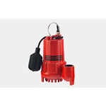 Red Lion 14942744 1/3 HP Cast Iron Sump Pump, 115 Volt 10' Cord with Tethered Switch