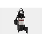 "Red Lion 14942782 1 HP Stainless Steel sump Pump, 115 Volt 1-1/2"" discharge, Tethered Switch"