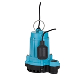 Little Giant 506858 6EC-CIA-RF 115 Volt,  1/3HP Pump with Cast Iron Base, Piggyback Mechanical Float, 20' Cord(Replaces 506620)