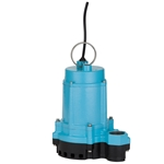 Little Giant 506851 6EC-CIM 115 Volt Manual Pump with Cast Iron Base, 10' Cord(Replaces 506610,506710)