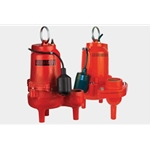 Red Lion 14942635 RL75WAM 3/4 HP Cast Iron Sewage Pump115 volt 10' Cord