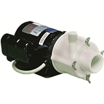 Little Giant 582506 4-MDQ-SC 115V 60Hz 850 GPH, 1/10 HP - Magnetic Drive Inline Aquarium Pump, 6' power cord