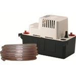Little Giant 554435 VCMA-20ULST 115V 60Hz 80 GPH - Automatic Condensate Removal Pump w/ safety switch & tubing, 6' power cord