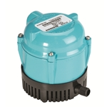 Little Giant 500500 Pool Cover Pump 1-AA-18 115V 60Hz - 170 GPH - Small Submersible, 18' Power Cord(574029)
