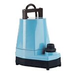 Little Giant 505025 5-MSP 115v 60Hz, 1/6 HP, 1200 GPH - Submersible Utility Pump, 25' power cord