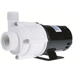 Little Giant 580507 2-MDQX-SC 115V 60Hz 770 GPH, 1/30 HP - Magnetic Drive Inline Aquarium Pump, 6' power cord