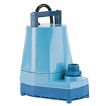 Little Giant 505202 5-MSP 230V 60Hz, 1/6 HP, 1200 GPH, 230V - Submersible Utility Pump, 12' power cord