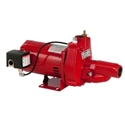 Red Lion 602137 RJC-75-Premium Cast Iron Convertible Jet Pump 3/4 HP 115/230 Volt