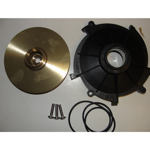 Red Lion 305606005 Impeller and Diffuser for RL-SPRK150 (Brass Impeller)