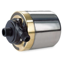 Little Giant 517011 S1200T-6 Stainless Steel & Bronze Pump, 1200 GPH, 6' Cord (Formerly Cal Pump)
