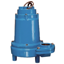 Little Giant 514221 14EH-CIM 208-240V 60Hz 1/2HP, 60 GPM - Manual Submersible High Head Effluent Pump, 20' power cord