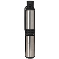 "Red Lion 14942405 Deep Well Submersible Pump, 4"", 1/2 HP 3-wire, 230 Volt"