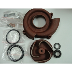 Red Lion 617312 Major Repair Kit (Seal, Impeller, Volute) for 6RLAG-3XST