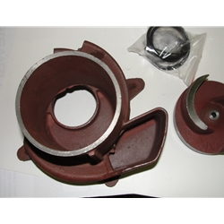Red Lion 617313 Major Repair Kit (Seal, Volute, Impeller) for 6RLAG-3XTT Pump
