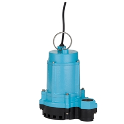 Little Giant 506852 6EC-CIM 115 Volt 1/3 HP Manual Pump with Cast Iron Base, 20' Cord(Replacess 506611,506711)