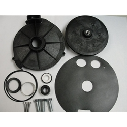 Franklin Electric 305396903 Overhaul Kit for JTB2CI pump includes Impeller, Diffuser, Diaphragm and hardware(Includes seal #106196205)