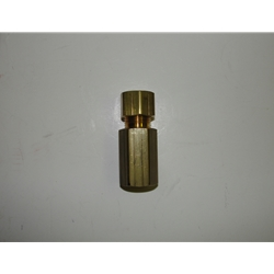 Little Giant 940003 Brass Check Valve for 3-ABS Condensate pump