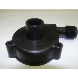 "Little Giant 118358 Volute, for PE-2.5, Black, Smooth with 3/8"" discharge"
