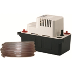 Little Giant 554411 VCMA-15ULT 115V 60Hz 65 GPH - Automatic Condensate Removal Pump w/ tubing, 6' power cord