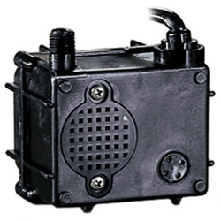 Little Giant 523375 P-AAA-WG 115V 60Hz 1/160 HP, 120 GPH - Submersible Pond Pump, 15' Power Cord