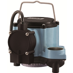 Little Giant 506160 6-CIA-ML 115V 60Hz - 1/3 HP, 46 GMP - Submersible Sump Pump, 10' power cord--Replacement Pump for WRSC-6