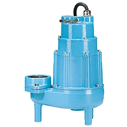 Little Giant 520100 20S-CIM, 1-Phase, 60Hz 2 HP, 205 GPM, 208-230V - Manual Submersible Sewage Ejector Pump, 20' power cord
